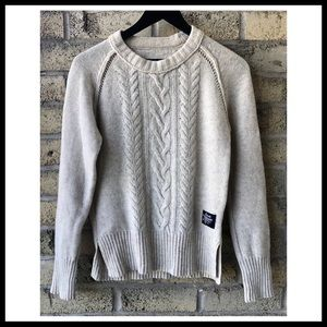 SUPERDRY Cable Crew Sweater